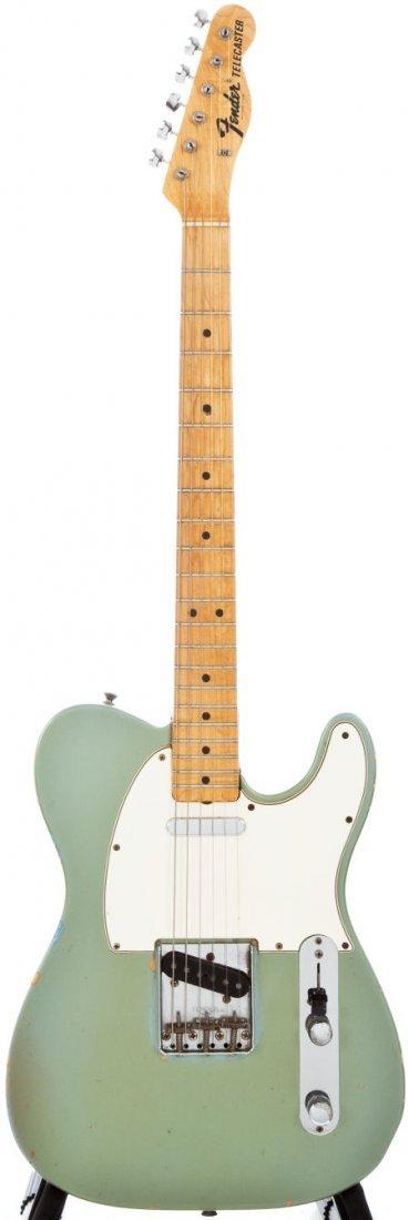 54234: 1967 Fender Telecaster Blue Ice Metallic Solid B