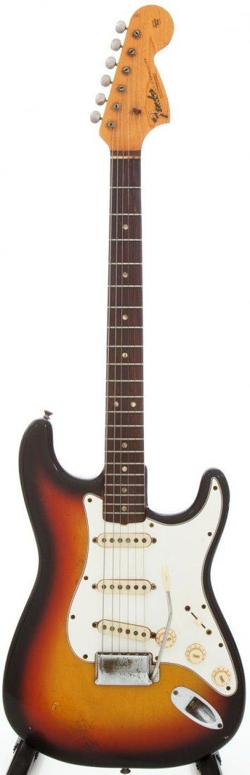 54235: 1967 Fender Stratocaster Sunburst Solid Body Ele