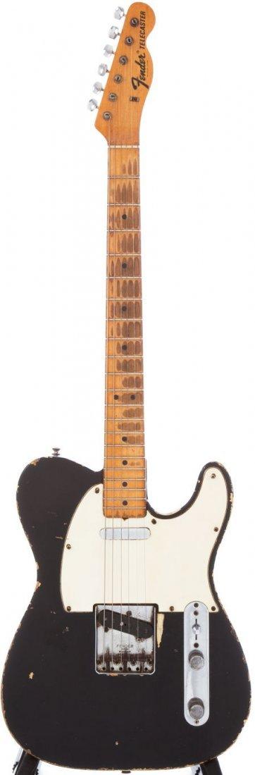 54237: 1967 Fender Telecaster Black Electric Guitar Ser