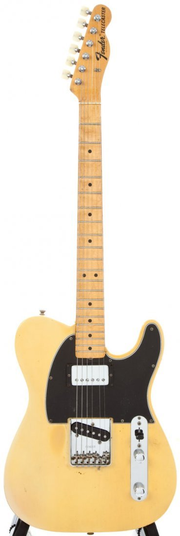 54238: 1968 Fender Telecaster Blonde Solid Body Electri