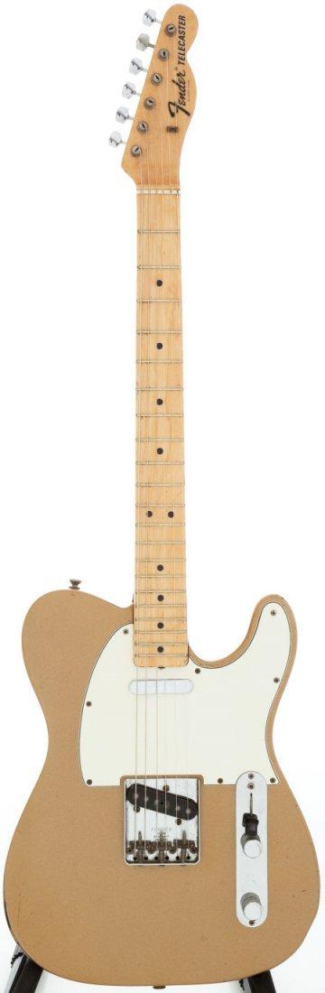54239: 1968 Fender Telecaster Firemist Gold Solid Body