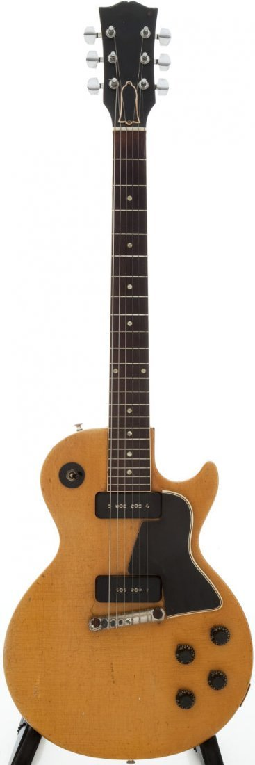 54260: 1957 Gibson Les Paul Special TV Yellow Solid Bod