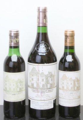 3: Chateau Haut Brion Pessac-Leognan 1982 hscl Bottle (