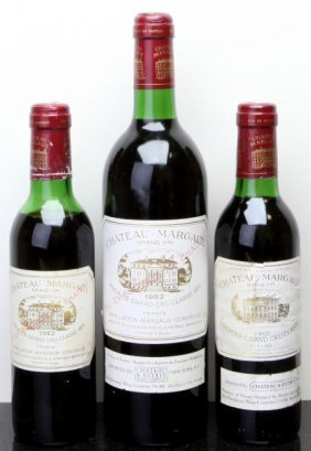Chateau Margaux Margaux 1982 Bn, Spc Bottle (1) 1982