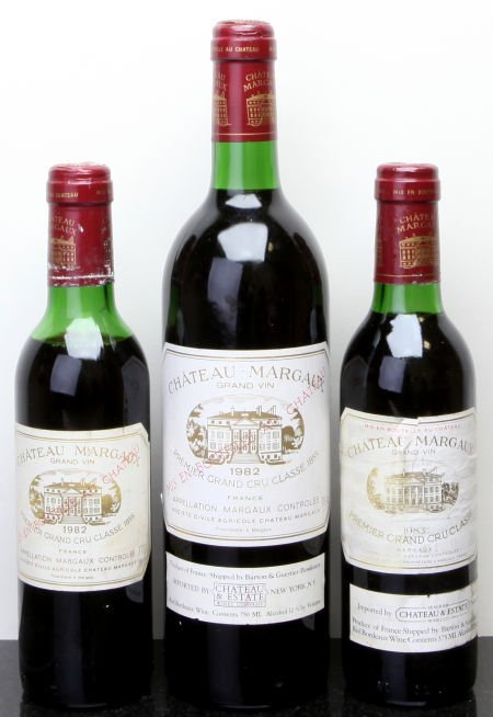 4: Chateau Margaux Margaux 1982 bn, spc Bottle (1) 1982
