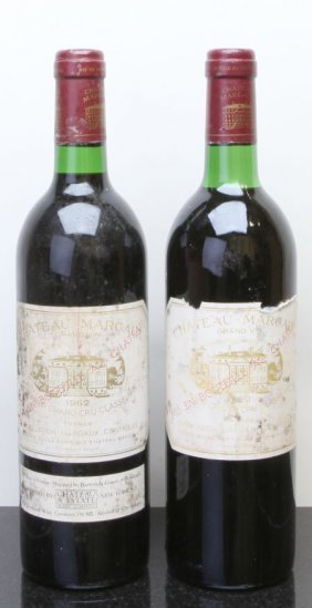 8: Chateau Margaux 1982  Margaux 1bn, 2hbsl, 1ts, 2oxc