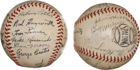 80947: 1944 St. Louis Cardinals & St. Louis Browns Team