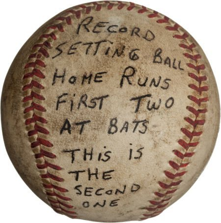 80952: 1951 Bob Nieman's Second Home Run in First Two M