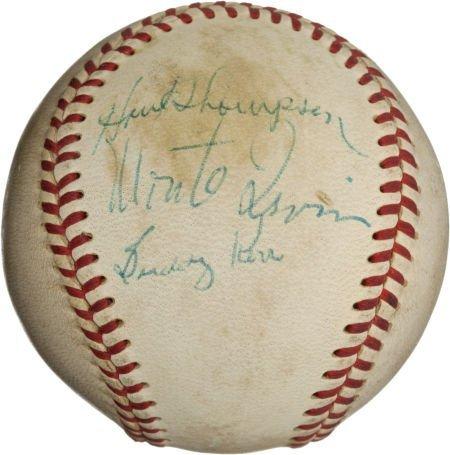 80959: 1957 New York Giants Last Game at the Polo Groun