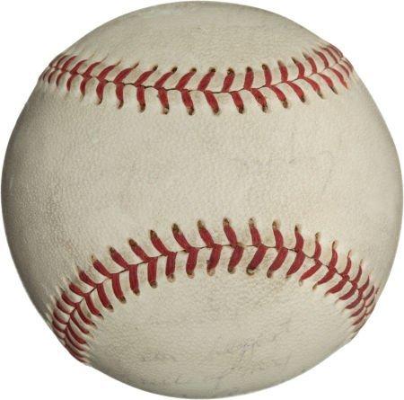 80968: 1971 Reggie Jackson All-Star Game Home Run Baseb