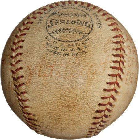 80971: 1972 Nate Colbert's Record Fifth Home Run Baseba