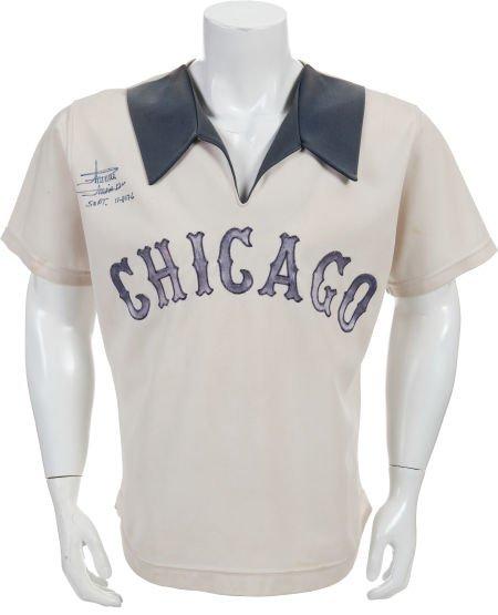 80975: 1976 Minnie Minoso Game Worn Chicago White Sox J