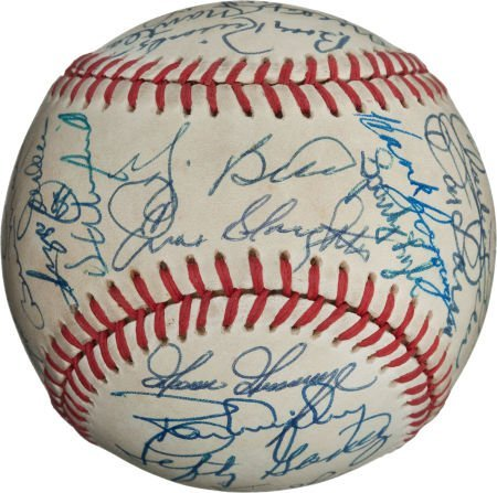 80991: 1980's-90's New York Yankees Legends & Stars Mul