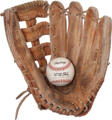 80998: 1999 Sammy Sosa 63rd Home Run Baseball with Fan'