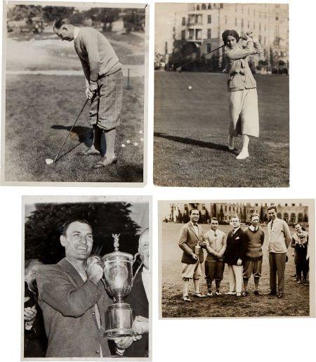 81190: 1930's-50's Legends of Golf Original News Photog
