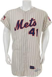 81104: 1969 Tom Seaver World Series Game Worn New York