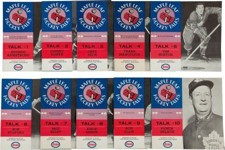 81691: 1966-67 Esso Toronto Maple Leaf Hockey Talks Rec