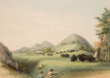 70002: GEORGE CATLIN (American, 1796-1872) North Americ