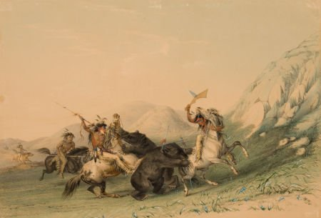 70009: GEORGE CATLIN (American, 1796-1872) North Americ