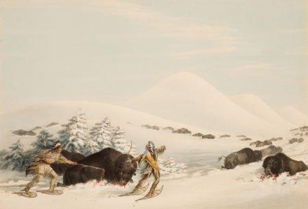 70010: GEORGE CATLIN (American, 1796-1872) North Americ
