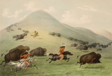 70011: GEORGE CATLIN (American, 1796-1872) North Americ
