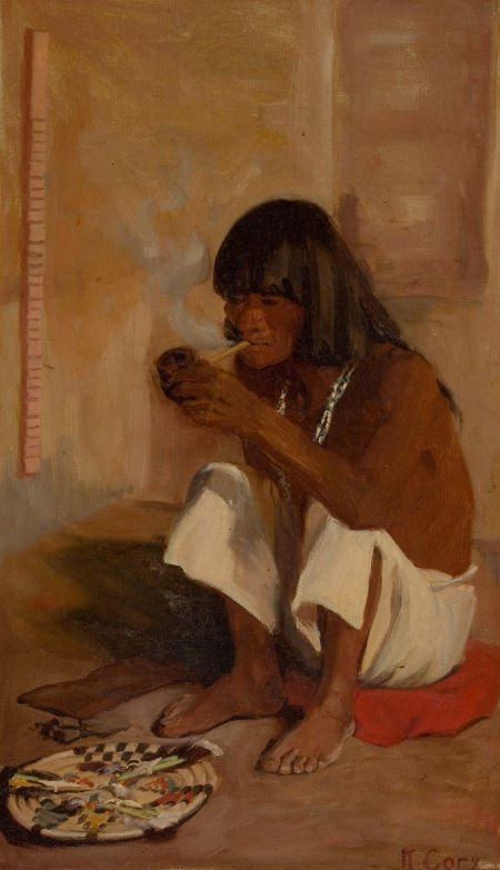 70050: KATE THOMPSON CORY (American, 1861-1958) Hopi Pr