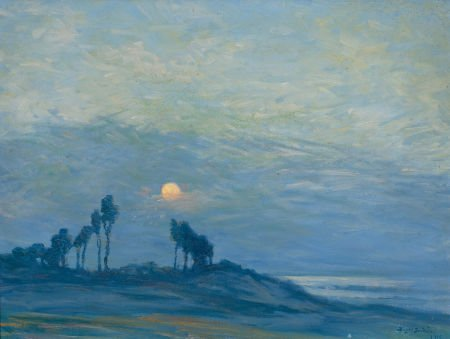 70041: BIRGER SANDZÉN (American, 1871-1954) Sunset Over