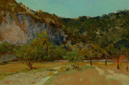 76004: EDWARD G. EISENLOHR (American, 1872-1961) On the