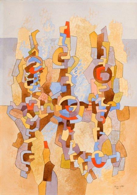 76041: BROR ALEXANDER UTTER (American, 1913-1993) Abstr