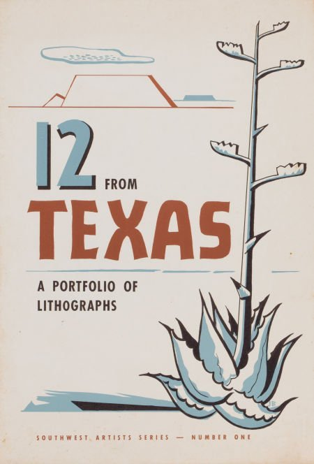 76006: AMERICAN ARTISTS (20th Century) 12 From Texas, a