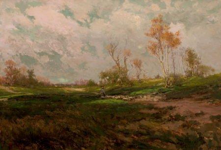 76044: JULIAN ONDERDONK (American, 1882-1922) Autumn Sh