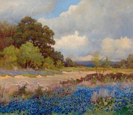 76027: ROBERT WILLIAM WOOD (American, 1889-1979) Countr