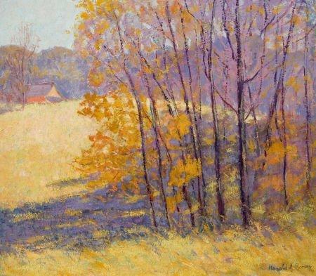 76045: HAROLD ARTHUR RONEY (American, 1899-1986) Autumn