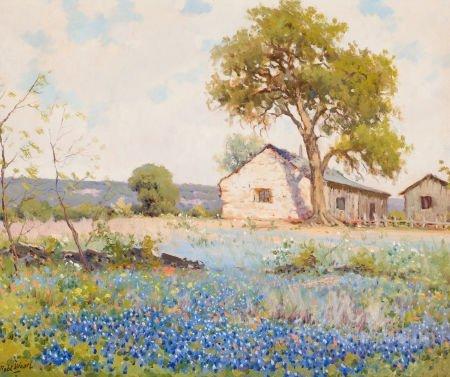 76028: ROBERT WILLIAM WOOD (American, 1889-1979) Field