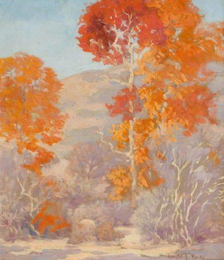 76046: HAROLD ARTHUR RONEY (American, 1899-1986) Trees,