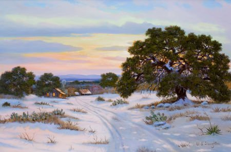76010: WILLIAM A. SLAUGHTER (American, 1923-2003) Sunse