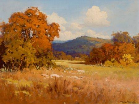 76029: ROBERT WILLIAM WOOD (American, 1889-1979) Fall L
