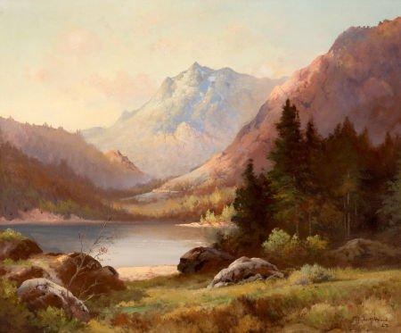 76030: ROBERT WILLIAM WOOD (American, 1889-1979) Lindbe