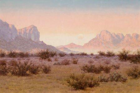 76048: AUDLEY DEAN NICHOLS (American, 1875-1941) Moonri