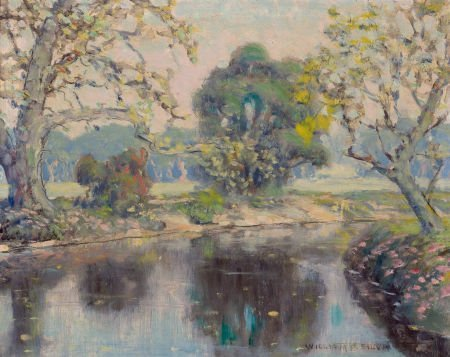 76049: WILLIAM POSEY SILVA (American, 1859-1948) One th