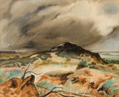 76013: CHARLES TAYLOR BOWLING (American, 1891-1985) Sto