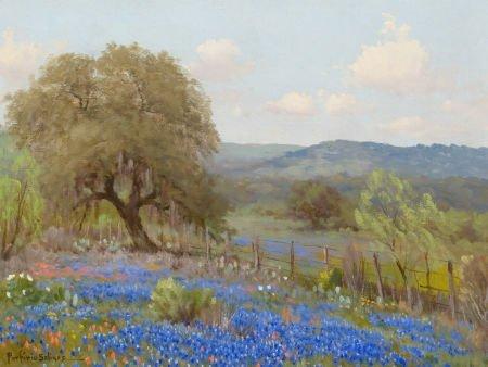 76035: PORFIRIO SALINAS (American, 1910-1973) Landscape