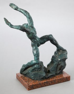 76017: CHARLES UMLAUF (American, 1911-1994) Supplicatio