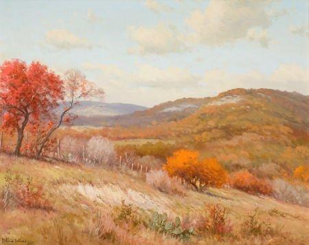 76036: PORFIRIO SALINAS (American, 1910-1973) Autumn Hi