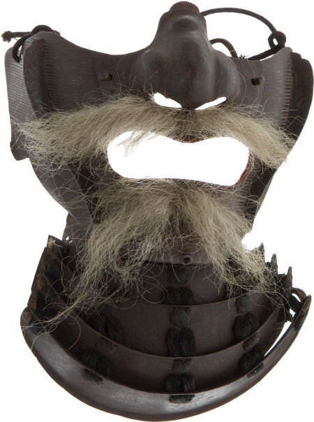 50099: Japanese Samurai Face Armor (Men Gu).