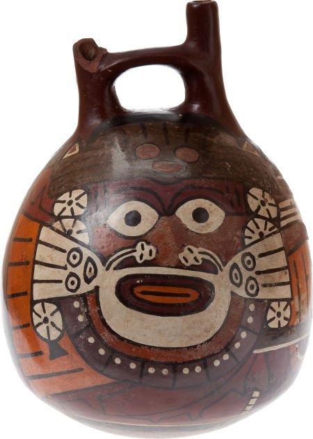 50004: Pre-Columbian Nazca Ceramic Pot.