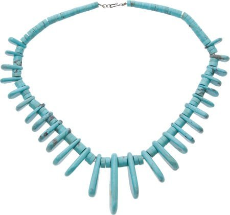50107: Turquoise Necklace.
