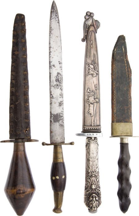 50117: Lot of 4 Assorted Daggers.