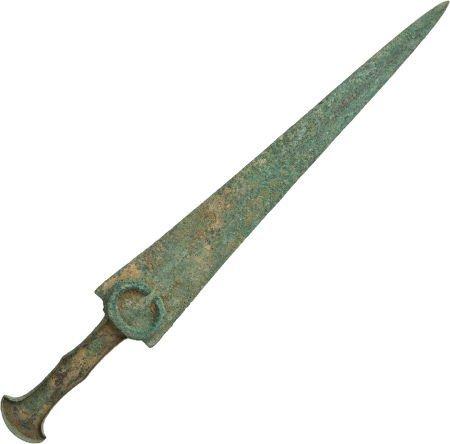 50026: Luristani Bronze Age Dagger.