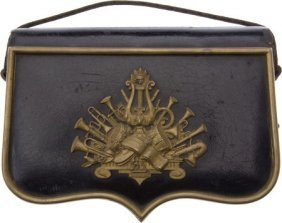 Civil War Officer Of The Day Cartridge Box.